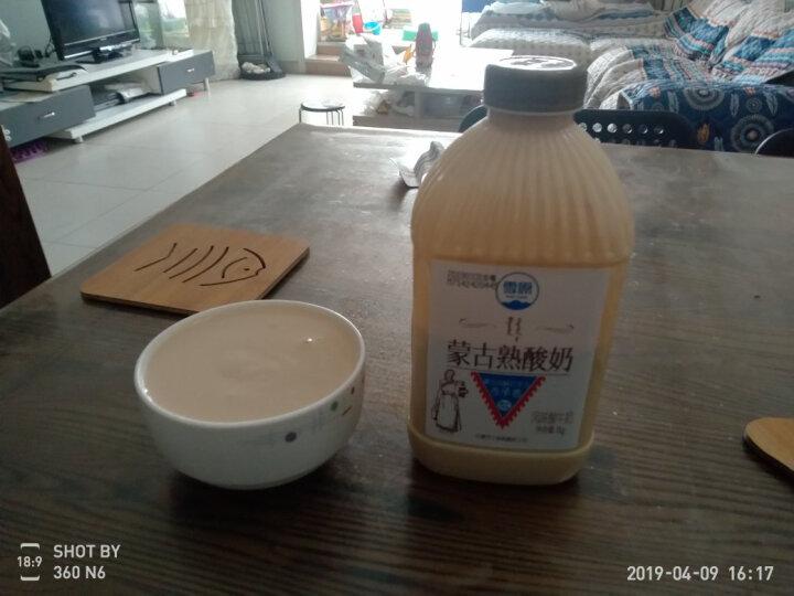 雪原 蒙古熟酸奶 炭烧酸牛奶 1kg 晒单图