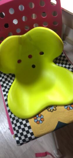 MTG 日本 Style Kids 矫正上课坐姿 防驼背 保护脊椎 儿童矫姿坐垫 L号 黄绿色 适用身高125cm-155cm 晒单图