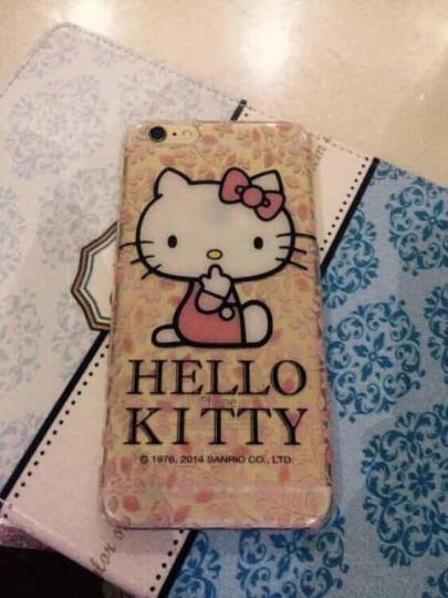 【买壳送壳】helloKitty 可爱透明苹果iphone6sPlus卡通手机壳超薄 甜点硬壳-4.7 晒单图