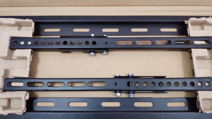 乐歌 (32-65英寸)电视挂架加厚电视机支架壁挂架子仰角可调55/60吋小米海信索尼TCL等大部分通用PSW798MT 晒单图