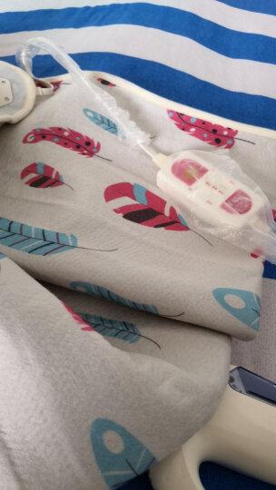 彩虹电热毯双人 电褥子双人 双控双温电热毯(长1.7米宽1.4米)JD104 花色随机 晒单图