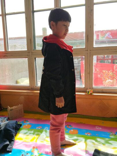 【双面穿】新款品牌童装女春装女童外套春秋儿童上衣女孩春款衣服韩版中长款风衣 双面穿外套-红黑 140码建议身高135CM 晒单图