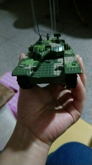 华一合金汽车模型军事儿童玩具坦克飞机大炮仿真模型 男孩车模玩具 合金航母母舰 晒单图