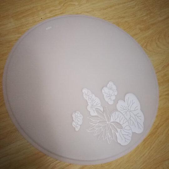 雷士(NVC)现代简约 LED卧室吸顶灯客厅餐厅书房灯灯具 18W双色光源 适用10-15平 ENOX9003 晒单图