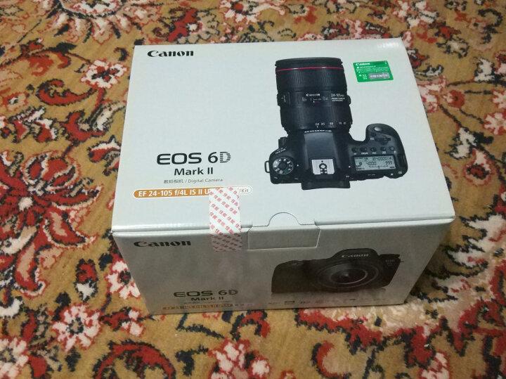 佳能(Canon) 全画幅数码单反相机 6D2/ EOS 6D Mark II (EF 24-70mmf/4L IS USM)套机 高性价比轻量化套装 晒单图