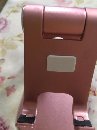 技光(JEARLAKON)JK-D06 懒人手机支架 可调节桌面平板电脑iPad支架 铝合金手机直播架充电底座 玫瑰金款 晒单图