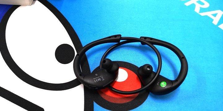 Dacom Athlete 运动蓝牙耳机跑步耳麦双耳音乐无线入耳头戴式适用于苹果小米安卓男女通用 黑色 晒单图