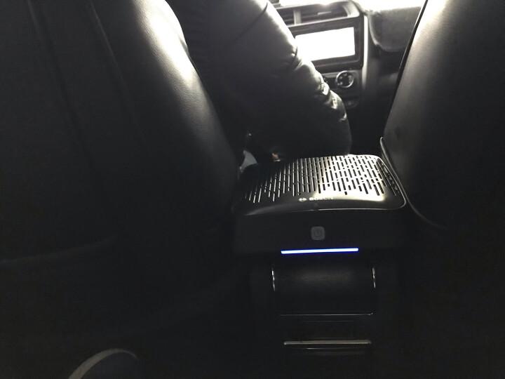 博世(BOSCH)车载空气净化器除甲醛汽车净化器除新车雾霾烟味异味PM2.5车内除味AM101 黑色 晒单图