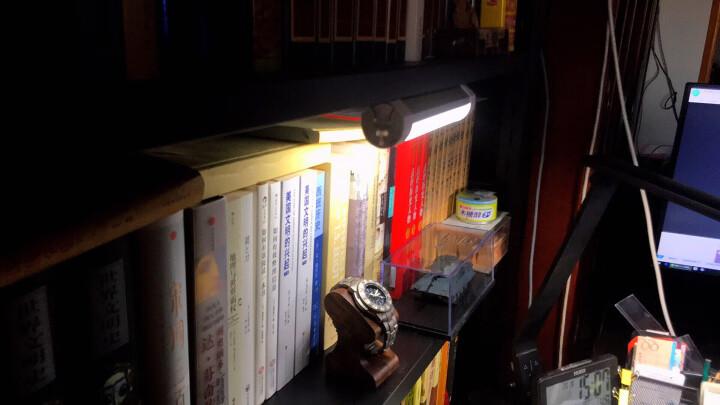 优洋 LED台灯2色调光护眼灯大学生寝室宿舍神器USB酷毙灯学习阅读书桌灯 2000毫安 晒单图