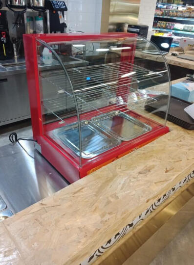 迪火 保温柜 商用食品台式展柜家用保温箱蛋挞保温柜 两层(经典款)50*40*49cm 晒单图