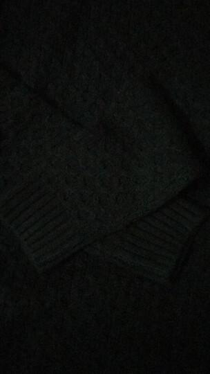 4M 毛衣男秋冬款男士潮流韩版宽松休闲圆领学生套头毛衫男 雪白色 170/92A 晒单图