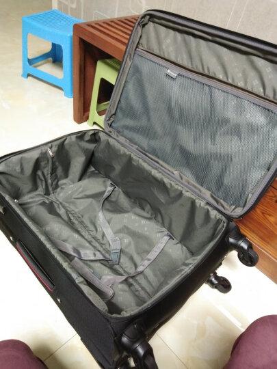 威豹(WINPARD)拉杆旅行箱男女行李箱 28英寸万向轮旅行箱托运箱 98019黑色 晒单图