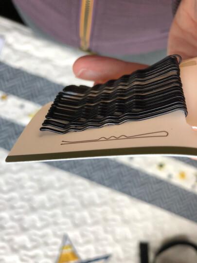 三本(SEMBEM)自然美发夹 20枚(弹性好 不易变形 小黑夹 碎发夹 头发夹子 金属发卡) 晒单图