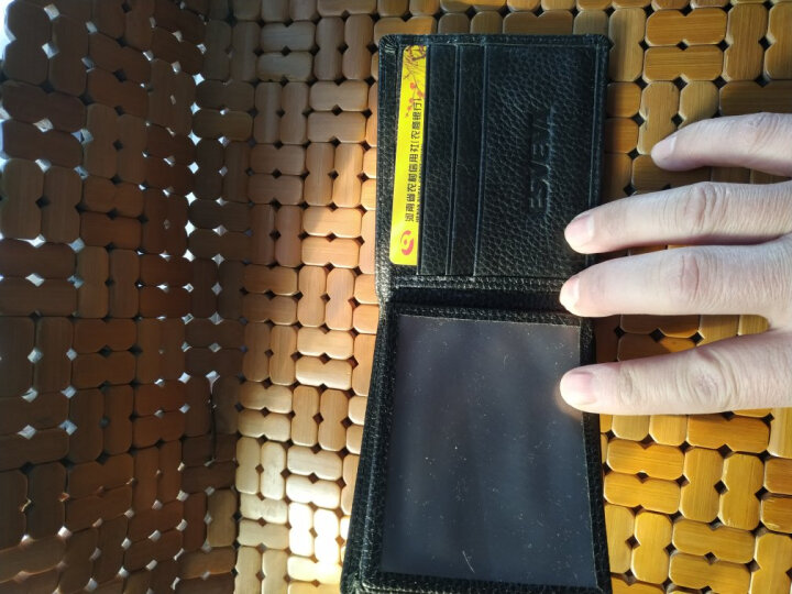 ESVEVA 真皮头层牛皮驾驶证皮套 男女士行驶证卡包钱包驾照皮夹薄款多功能保护套二合一银行卡包薄款 横款09无字深棕色 晒单图