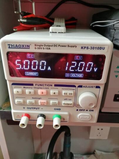 直流稳压电源 30V5A 兆信直流电源 10A 60V5A笔记本手机维修电源 可编程数控电源 KPS-3010D 30V10A (不带接口) 晒单图