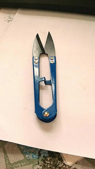 缝纫剪刀裁剪工具剪线头用小剪刀弹簧U型十字绣纱剪 小号纱剪 3把 晒单图