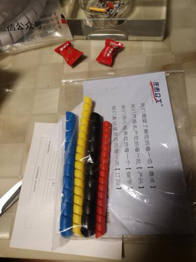 佐佑众工 22mm油管保护套 液压胶管螺旋保护套 管子装饰工具 线缆缠绕保护套管 2米/根 红色/2米一根 22mm 晒单图