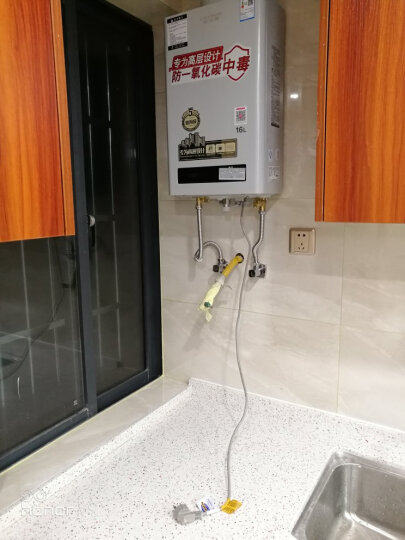 史密斯(A.O.Smith) 16升 主动防护系统 专为高层设计 燃气热水器 (天然气) JSQ33-N3H 晒单图