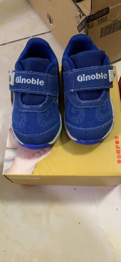 基诺浦(ginoble) 机能鞋1-5岁男女宝宝童鞋 飞织系列学步鞋TXG325 TXG328红色/粉色 5码/鞋垫长13.5cm 晒单图