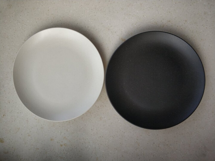 亿嘉IJARL 剑林创意日韩欧式陶瓷器牛排盘水果盘西餐盘碟子8英寸餐盘 北欧印象 黑色 晒单图
