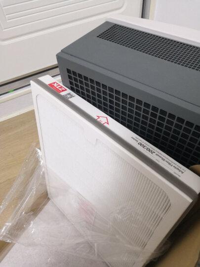 ZTK 适配布鲁雅尔blueair滤网 滤芯 空气净化器过滤网SmokeStop复合 200/300系列初滤网五张 晒单图