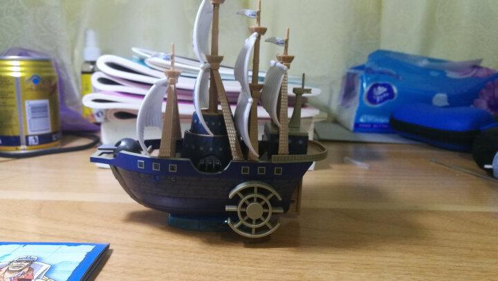 万代(BANDAI) 伟大的船 海贼王海贼船 拼装模型 15cm(拆封无售后) 白胡子莫比迪克号 晒单图