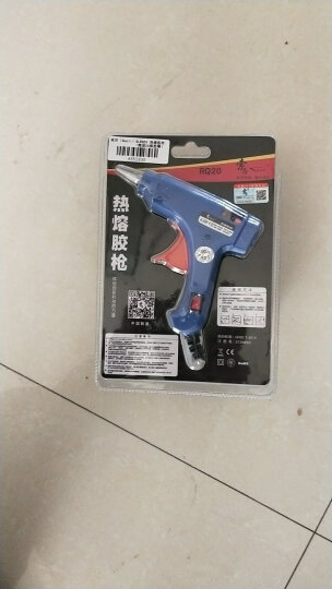 索厉(Suoli) 热熔胶枪5-20W胶棒7MM 适用工艺维修(带开关/标配20根白色胶棒/SLRQ20) 晒单图
