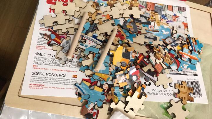 美国TOI 儿童故事拼图玩具益智早教宝宝幼儿木制拼图男女孩2-3-4-5-6岁支架设计 48片安徒生童话故事 晒单图