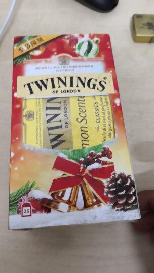 英国川宁(TWININGS) 精品锡兰红茶茶 进口茶叶袋泡茶包 25包*2g 晒单图