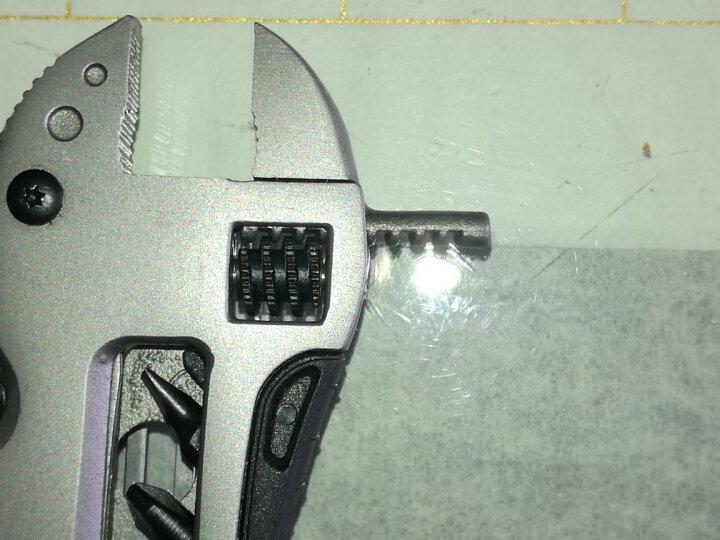 全能量 户外工具钳子多功能便携迷你组合工具钳活动开口扳手K1120 晒单图