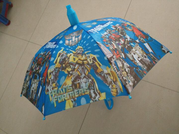 粉色小猪佩琪 索菲亚公主 幼儿园男女孩自动儿童雨伞 熊彩虹防水杯 晒单图