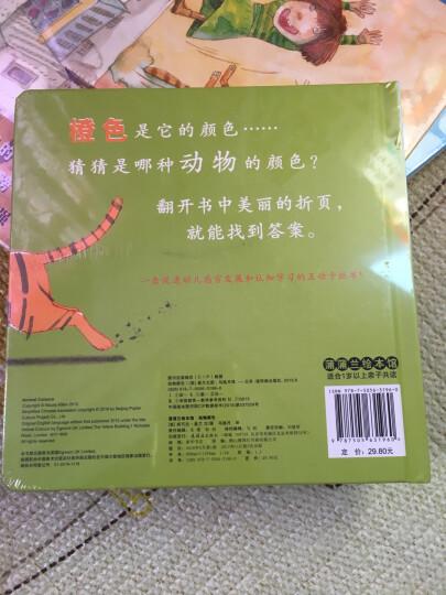 动物颜色 蒲蒲兰绘本 晒单图