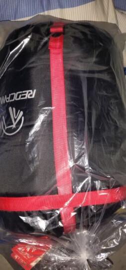 RedCamp 成人睡袋户外 办公室睡袋室内午休 旅行露营保暖睡袋大人便携式 如羽1.4kg灰色 晒单图