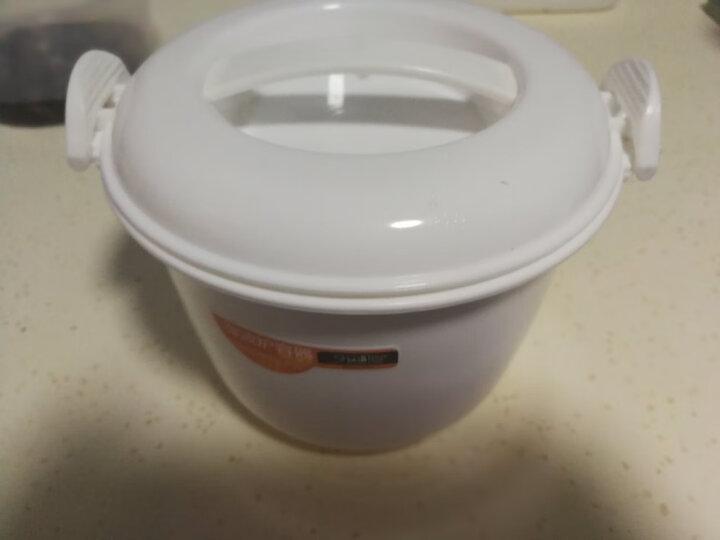 金利娴子  微波炉专用盒饭煲 蒸米饭锅 蒸饭盒 煮饭锅 保鲜盒 小号2311带量杯 晒单图