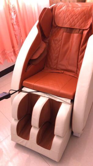南极人(NANJIREN)全自动电动按摩椅家用全身太空豪华舱 按摩沙发 京东特卖高配旗舰款-橙白 晒单图