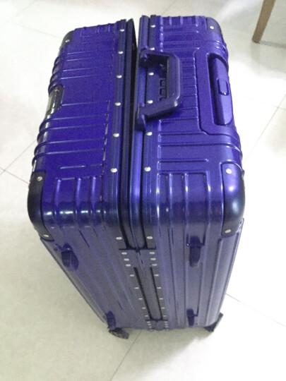TTMaster商旅大师德国品牌拉杆箱静音万向轮男女行李箱242628学生商务大容量旅行箱20登机箱 宝石蓝(铝框6007) 26寸 晒单图