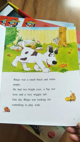 培生儿童英语Level 1(含20册书+5张DVD+40张单词卡) 晒单图