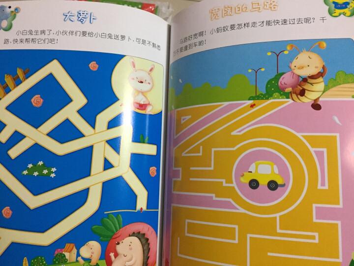 晨风童书 幼儿全脑思维多元训练 趣味找不同(上下册) 晒单图