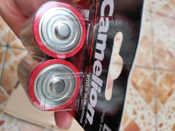 飞狮(Camelion)碱性电池 干电池 LR20/D/大号/1号 电池 2节 燃气灶/热水器/收音机/手电筒/电子琴 晒单图