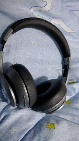 酷我(kuwo.cn)H1 头戴式无线蓝牙音乐耳机电脑笔记本游戏有线耳麦 魔力红 晒单图