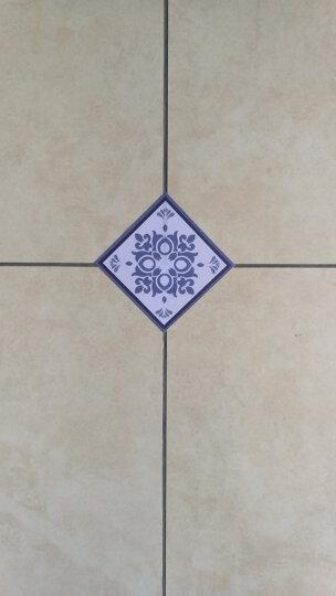 客厅地砖瓷砖贴纸墙贴地板砖对角线贴防水墙贴耐磨卫生间对角贴墙面贴纸 形格之石G款(20片装) 8cm*8cm 晒单图