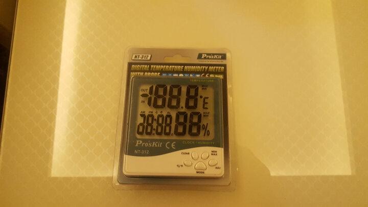 宝工(Pro'sKit) NT-311 数位温湿度计数显 晒单图