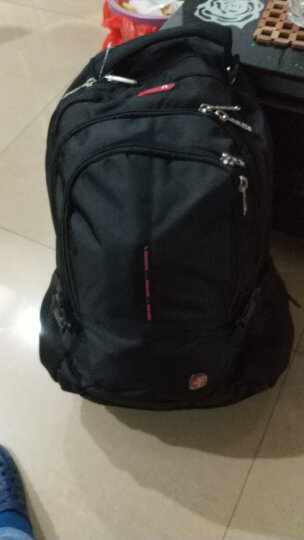CROSSGEAR【防盗系列】双肩包男商务笔记本电脑包15.6/17.3英寸背包大容量旅行包防泼水书包CR-9001XL黑色 晒单图
