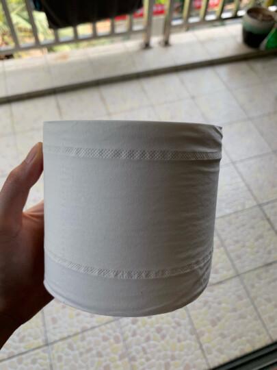 维达(Vinda) 卷纸 蓝色经典3层200g卫生纸巾*10卷(3层与4层随机发货) 晒单图
