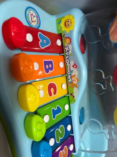 汇乐玩具(HUILE TOYS)益智玩具多功能电子琴669  男孩女孩儿童礼物早教音乐启蒙电钢琴37键带麦克风 晒单图