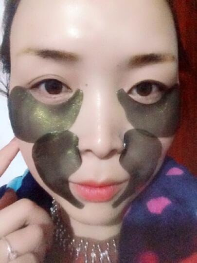 蜗牛眼膜贴6g30对眼部护理眼霜去眼袋去黑眼圈细纹紧致补水护眼贴男女 蜗牛修护霜 晒单图