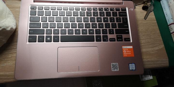 戴尔(DELL) 灵越5370-2505金属超极本 13.3英寸轻薄办公i5学生办公手提笔记本电脑 8GB内存 240G固态 粉色定制 i5-8250U四核 HD620显卡 背光键盘 晒单图