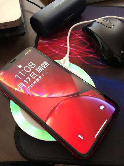 南孚(NANFU)iPhoneX无线充电器 适用于苹果X/XR/Xs Max/8plus/小米 10W快充安卓手机三星白 晒单图