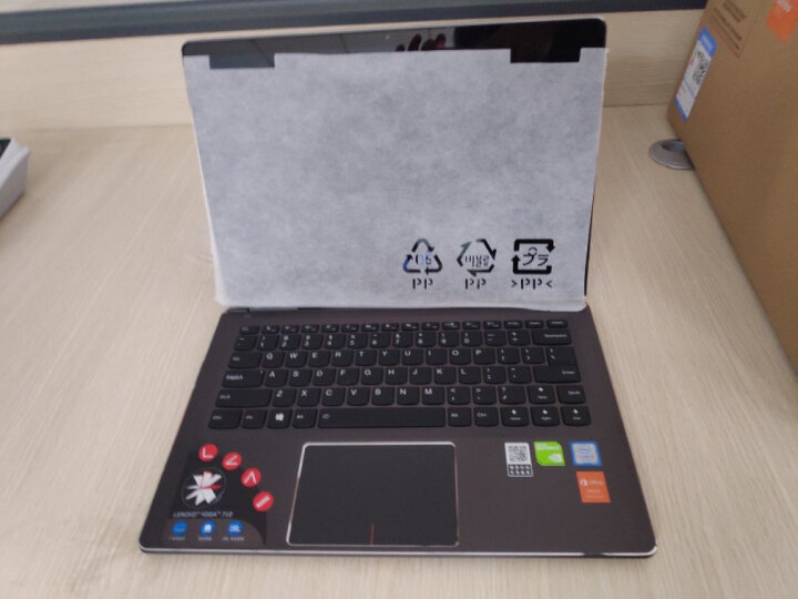 联想笔记本电脑Yoga710/720 C740 14英寸i5触摸屏超薄轻薄触控PC平板二合一超极本 定制I5-10210U 16G 1T固态 云母金 晒单图