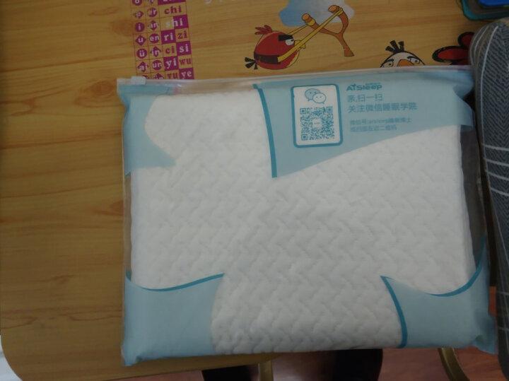 睡眠博士(AiSleep)枕套 天丝透气净白枕套 单个装 60*43cm 晒单图